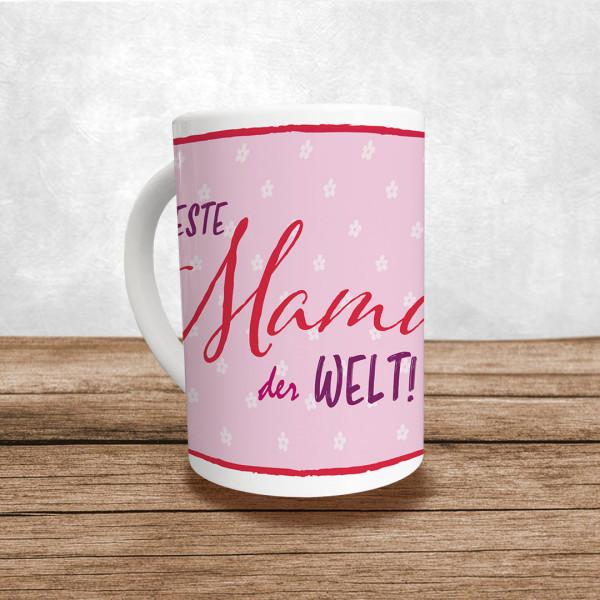 """Muttertag Tasse """"Beste Mama der Welt!"""""""