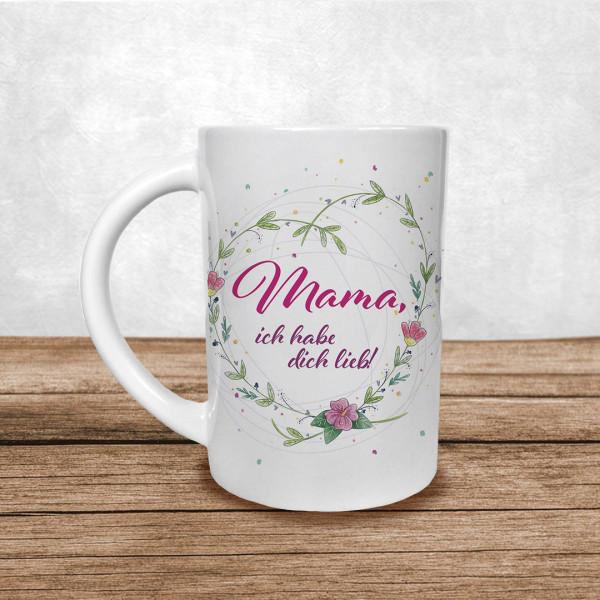 """Muttertag Tasse """"Mama, ich habe dich lieb!"""""""