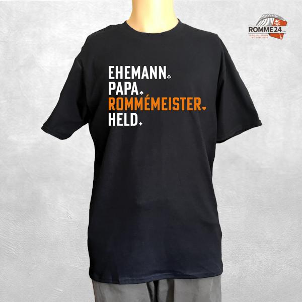 T-Shirt - ROMMÉMEISTER - Herrenshirt